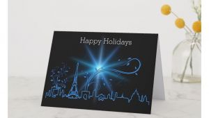 Creative New Year Card Ideas New Year S Eve In Paris Holiday Card Paris New Years Eve
