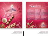Creative Restaurant Menu Card Designs M 4 the Color that they Used for the Background Makes the