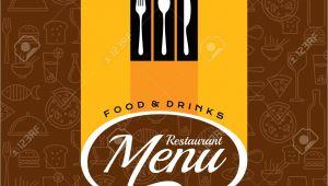 Creative Restaurant Menu Card Designs Restaurant Menu Card Design Template Creative Vector
