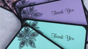 Creative Thank You Card Designs Handmade Thank You Cards by Craftedbylizc Handmade Thank
