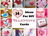 Creative Valentines Day Card Ideas 14 Creative Ideas for Diy Homemade Valentine Cards