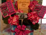Creative Ways to Wrap A Gift Card Lottery Ticket Raffle or Silent Auction Basket Cute Idea