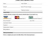 Credit Card Authorisation form Template Australia Credit Card Processing form Web Design Pinterest