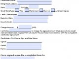 Credit Card Authorisation form Template Australia Download Generic Credit Card Authorization forms Wikidownload