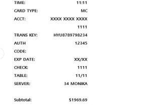 Credit Card Payment Receipt Template 59 Free Receipt Templates Cash Sales Donation Rent