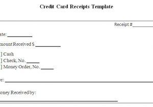Credit Card Payment Receipt Template Receipt Template for Graphic Designers Joy Studio Design