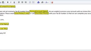 Crm 2011 Email Template Create An Email Template In Crm 2011
