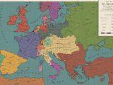 Cross Border Card Germany Austria Europe 1813 the Congress Of Frankfurt by Saluslibertatis On