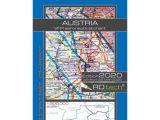 Cross Border Card Germany Austria Rogers Data Vfr Flugkarte A Sterreich 1 500 000 Laminiert