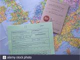 Cross Border Card northern Ireland Ins Ausland Fahren Stockfotos Ins Ausland Fahren Bilder