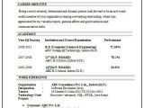 Cs Fresher Resume format Professional Curriculum Vitae Resume Template for All