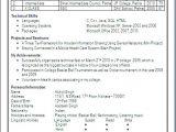 Cs Fresher Resume format Resume Blog Co June 2014