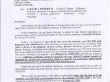 Csjm University Back Paper Admit Card Kakatiya University Warangal 506009 Telangana India