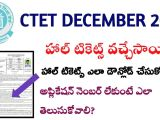 Ctet Admit Card Name Wise Ctet 2019 December Haltickets Dowload How to Download Ctet