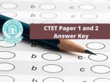 Ctet Admit Card Name Wise Ctet Paper 1 and 2 Answer Key 2019 Out Check Ctet Paper 1