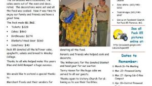 Cub Scout Pack Newsletter Template Public Newsletter Cub Scout Pack 85 Florence Mississippi