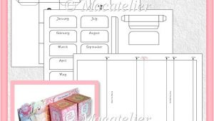 Cube Calendar Template Cube Calendar Template Cu 3 60 Commercial Use Scraps