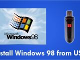 Cue Card On Modern Technology Install Windows 98 From Usb Flash Drive with Easy2boot