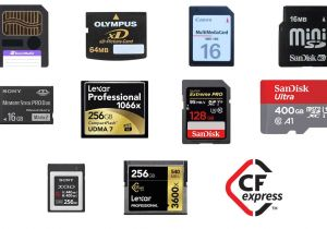 Cue Card On Modern Technology Memory Cards Past Present and Future What You Need to