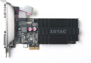 Cue Card On Modern Technology Zotac Geforce Gt 710 Pcie X1 Grafikkarte Nvidia Gt 710 1gb Ddr3 64bit Base Takt 954 Mhz 1 6 Ghz Dvi D Hdmi Vga Passiv Gekuhlt