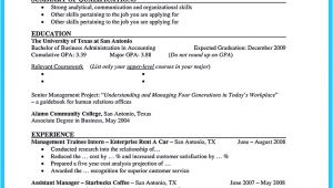 Current College Student Resume Best Current College Student Resume with No Experience