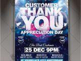 Customer Appreciation Day Flyer Template Appreciation Day Business Flyer Psd Template Psdmarket