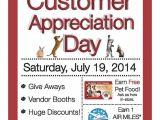 Customer Appreciation Day Flyer Template Customer Appreciation Day Flyer Template Pictures to Pin