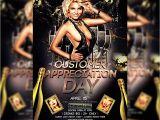 Customer Appreciation Day Flyer Template Customer Appreciation Day Premium Flyer Template