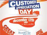 Customer Appreciation Day Flyer Template Customer Appreciation Flyer by Amitjakhu On Deviantart