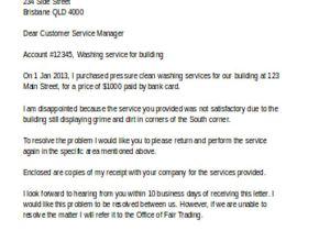 Customer Response Letter Templates 18 Response Letter Template Free Sample Example format