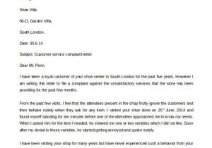 Customer Response Letter Templates 29 Free Complaint Letter Templates Pdf Doc Free