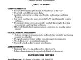Customer Service Representative Resume Template Customer Service Representative Resume 9 Free Sample