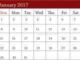 Customizable Calendar Template 2017 26 Customizable Calendar Template Images January 2017