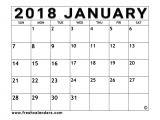 Customizable Calendar Template 2018 Customizable Calendar Template 2018 Incepimagine Exco