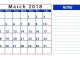 Customizable Calendar Template 2018 March 2018 Personalized Calendar Latest Calendar