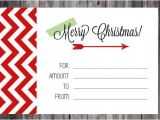 Customizable Christmas Gift Certificate Template 20 Christmas Gift Certificate Templates Free Sample