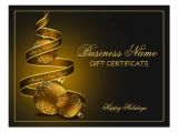 Customizable Christmas Gift Certificate Template Personalized Christmas Gift Certificate Template Postcard
