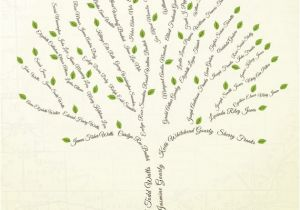 Customizable Family Tree Template Custom Family Tree 6 Generations Print Copy by Ancestryprints