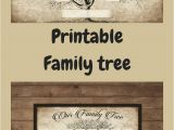 Customizable Family Tree Template Custom Family Tree Printable 5 Generation Template