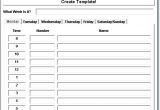 Customize Calendar Template Appointment Calendar Templates to Customize Calendar