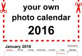 Customize Calendar Template Customizable 2016 Calendar Template for Word Calendar