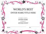 Customized Certificate Templates Resume Responsibilities Free Custom Award Certificate