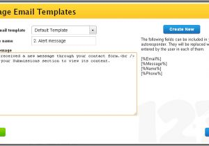 Customized Email Templates Examples Of Custom Email Templates 123contactform Blog