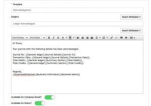 Customized Email Templates How Do I Customize Email Templates In Ledger App