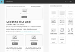 Customized Email Templates Tutorial for Creating A Custom Email Template In Mailchimp
