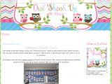 Customizing Blogger Template Custom Blog Designs Portfolio Scrapbook Style