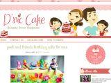 Customizing Blogger Template D 39 Nic Cakes Custom Blogger Template Ipietoon Cute Blog