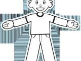 Cut Out Character Template Flat Stanley Cut Out Dialect Zone International