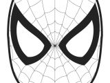 Cut Out Character Template Spider Man Face Template Cut Out Colouring Page Coloring