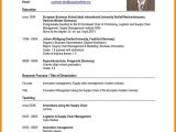 Cv or Resume for Job Application 8 Sample Of Curriculum Vitae for Job Application Pdf